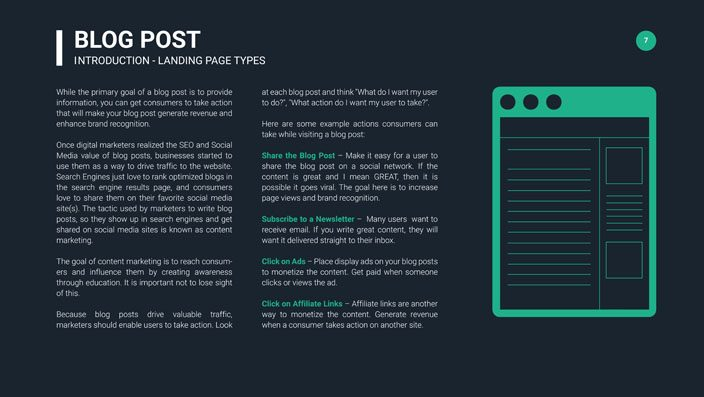 Landing Page Types Blog Post